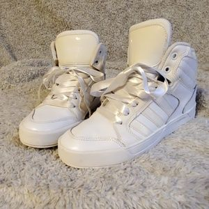 Adidas high tops - white/off ehite